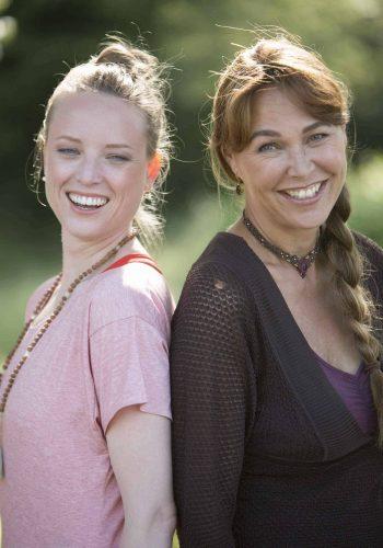 Annelies Bakker and Paula Jap Tjong from Chair Yoga World